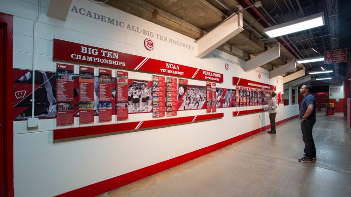 Wall Graphics & Sports Facility Design Agency