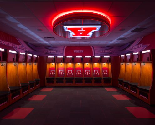 Basketball Locker Room Design Firm Arrowhead