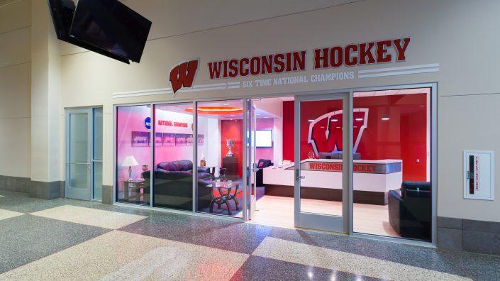Sports Facility Branding & Design Hockey