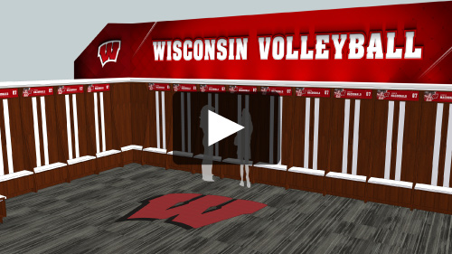 Sports Facility Design & Branding Volleyball