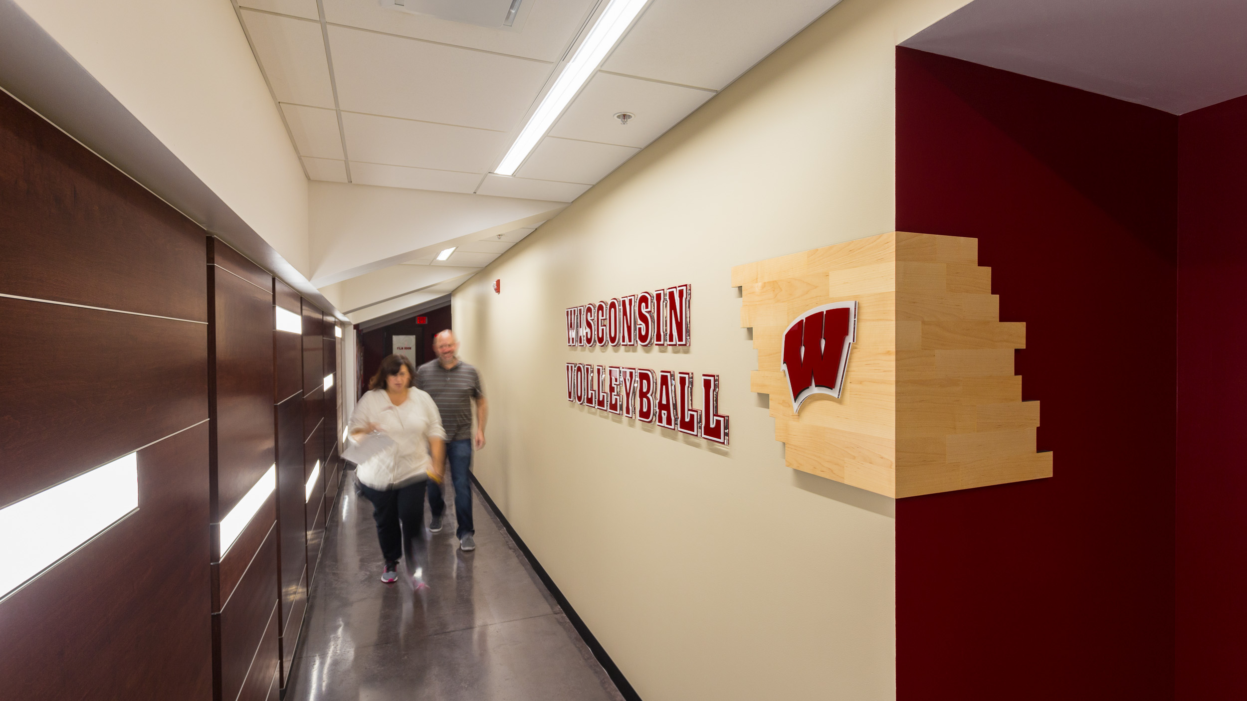 Sports Facility Design & Signage Volleyball