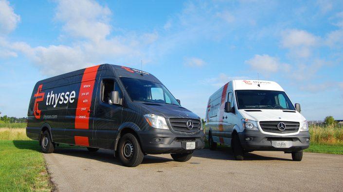 Thysse Brand Design & Vehicle Graphics