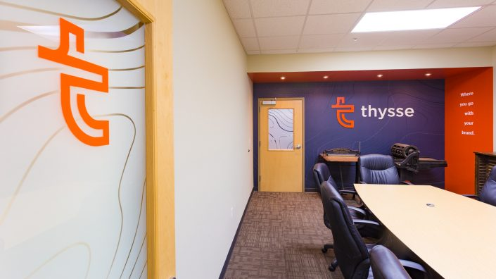 Thysse Environmental Wall Graphics & Branding