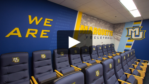 Environmental Locker Room Graphics Video