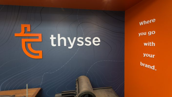 Thysse Wall Graphics & Custom Sign Design