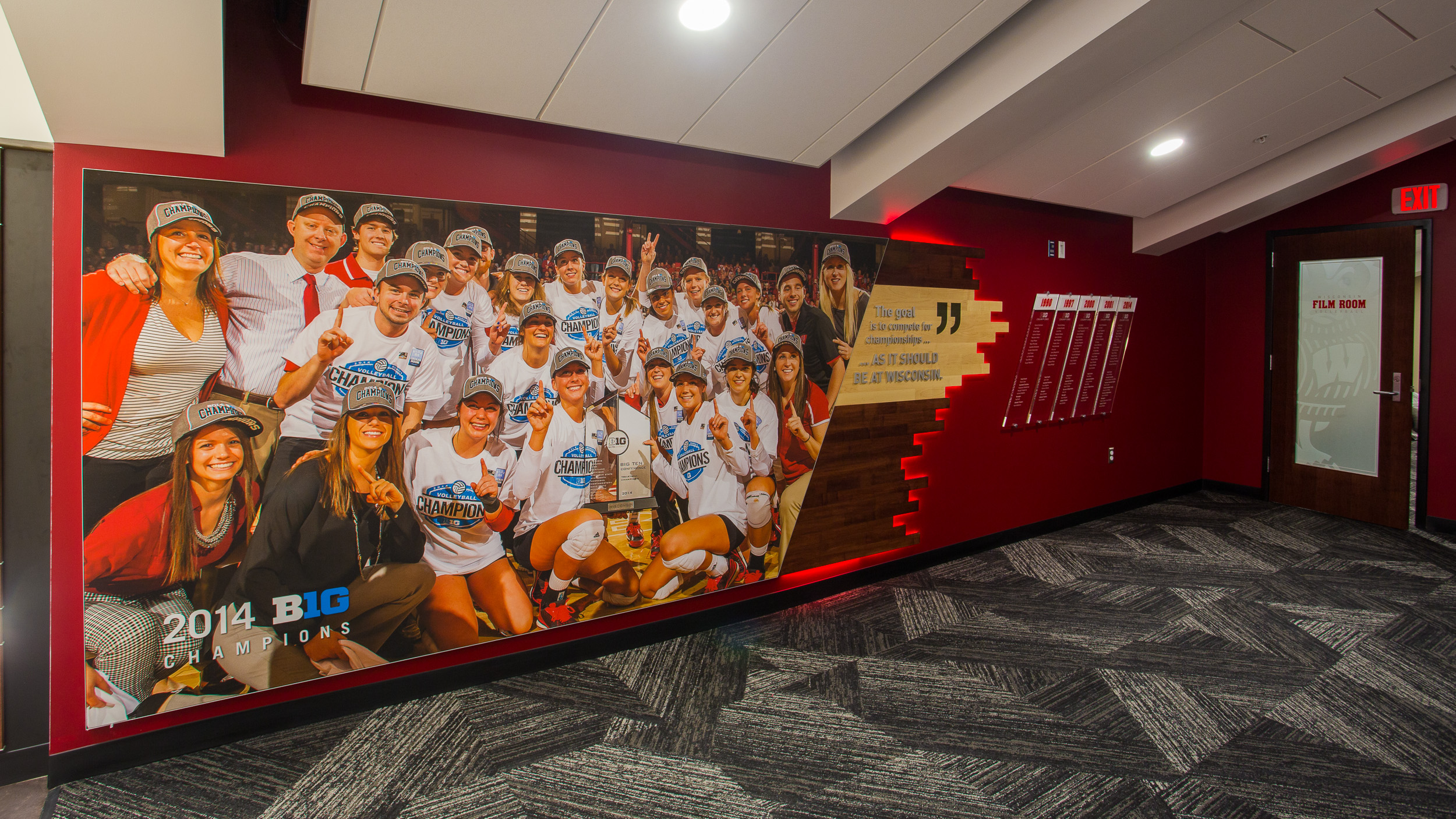 Wall Graphics & Facility Branding Volleyball