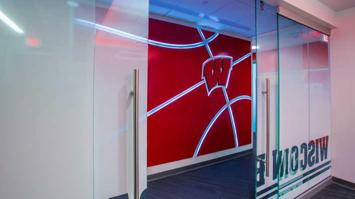 Custom Displays & Wall Graphics UW Offices