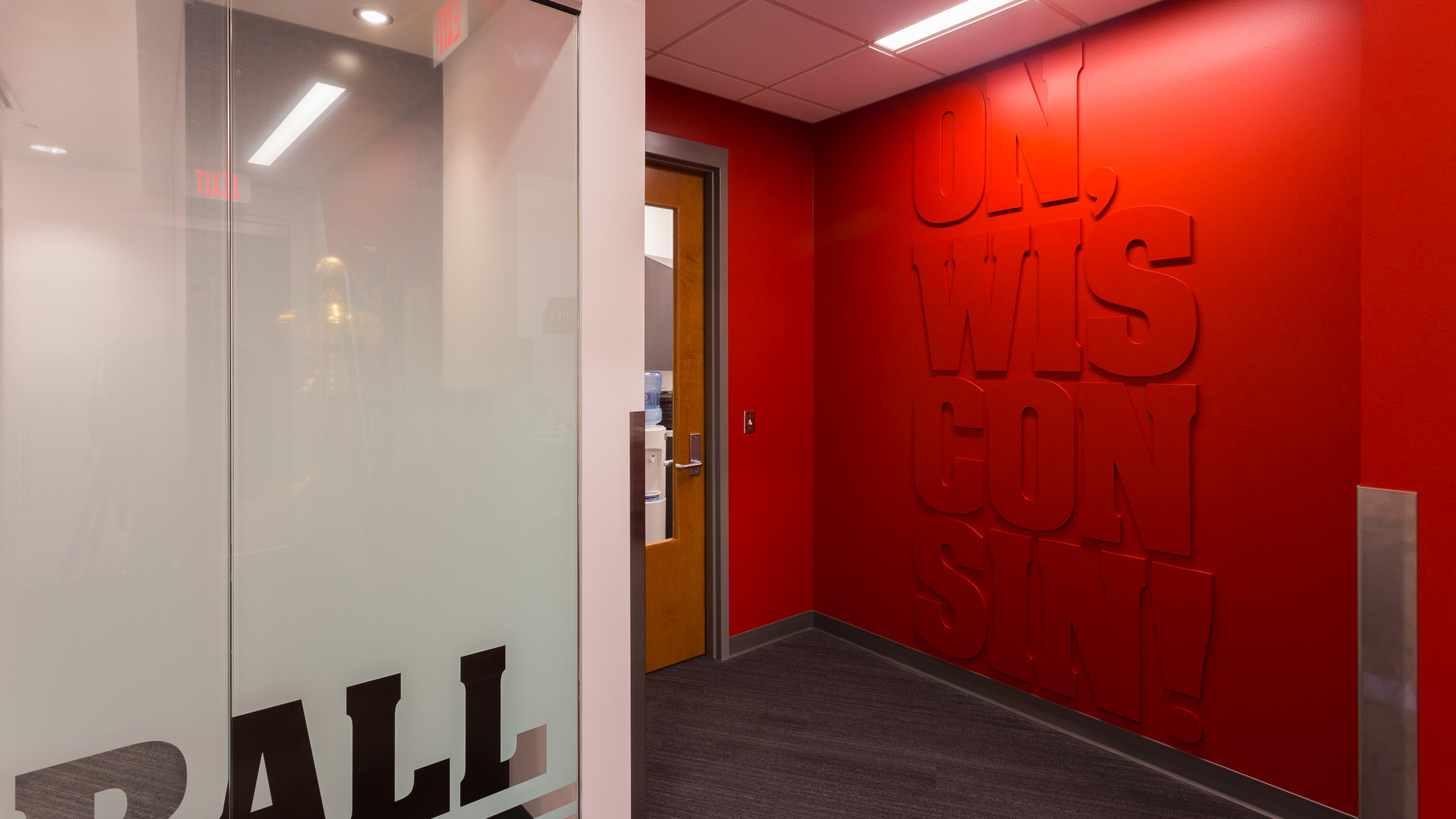 Custom Sign Design Firm UW Offices