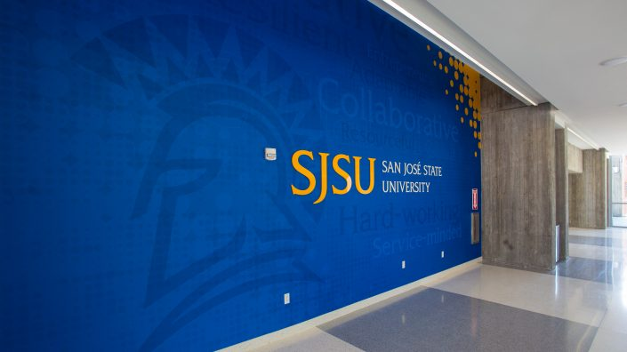 Environmental Graphics & Branding SJSU