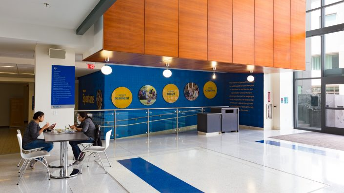 Facility Branding Design Agency SJSU