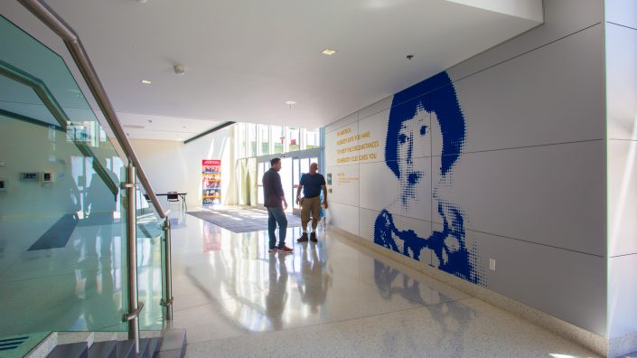 Facility Branding & Wall Graphics SJSU